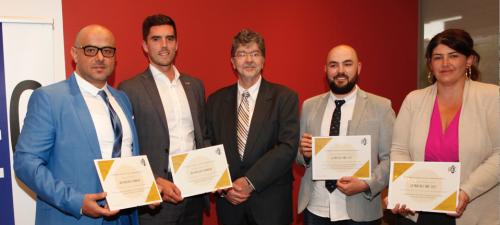 Nos gagnant.e.s des Prix de l'IRÉC 2017
